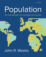 Population : An Introduction to Concepts and Issues - John R. Weeks