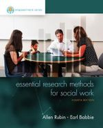 Empowerment Series : Essential Research Methods for Social Work - Allen Rubin