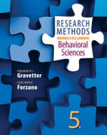 Research Methods for the Behavioral Sciences - Frederick J. Gravetter