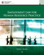 Employment Law for Human Resource Practice - David Walsh