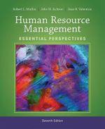 Human Resource Management : Essential Perspectives - Sean Valentine