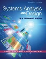 Systems Analysis and Design in a Changing World - Stephen D. Burd