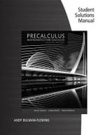 Student Solutions Manual for Stewart/Redlin/Watson's Precalculus : Mathematics for Calculus, 7th - James Stewart