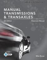 Today's Technician : Manual Transmissions & Transaxles Classroom Manual - Jack Erjavec