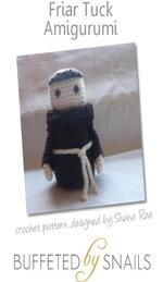 Friar Tuck Amigurumi Crochet Pattern - Shana Rae