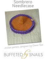 Sombrero Needlecase Crochet Pattern - Shana Rae