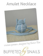 Amulet Necklace Crochet Pattern - Shana Rae