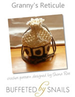Granny's Reticule Crochet Pattern - Shana Rae