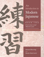 An Introduction to Modern Japanese - Richard Bowring