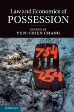 Law and Economics of Possession
