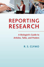 Reporting Research - R. S. Clymo