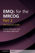 Emqs for the Mrcog Part 2 : The Essential Guide - Andrea Pilkington