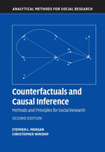 Counterfactuals and Causal Inference - Stephen L. Morgan