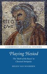 Playing Hesiod - Helen Van Noorden