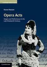 Opera Acts - Karen Henson