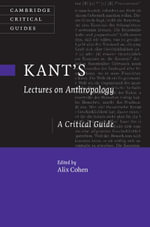 Kant's Lectures on Anthropology
