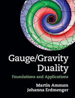 Gauge/Gravity Duality - Martin Ammon