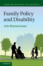 Family Policy and Disability - Arie Rimmerman