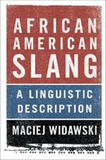 African American Slang - Maciej Widawski