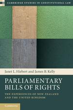 Parliamentary Bills of Rights - Janet L. Hiebert