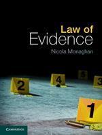Law of Evidence - Nicola Monaghan