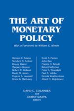 The Art of Monetary Policy - David C. Colander