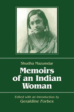 Memoirs of an Indian Woman - Shudha Mazumdar