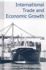 International Trade and Economic Growth - Van den Berg, Hendrik