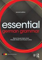 Essential German Grammar - Martin Durrell