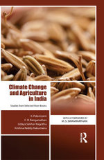 Climate Change and Agriculture in India : Studies from Selected River Basins - K. Palanisami