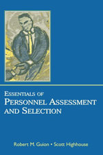 Essentials of Personnel Assessment and Selection - Scott Highhouse