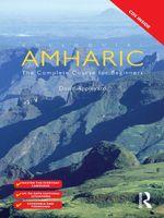 Colloquial Amharic (eBook And MP3 Pack) - David Appleyard