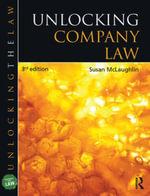 Unlocking Company Law - Susan McLaughlin
