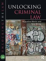 Unlocking Criminal Law - Jacqueline Martin