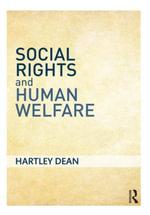 Social Rights and Human Welfare - Hartley Dean