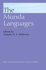 The Munda Languages - Gregory D.S. Anderson