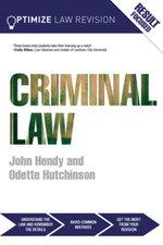 Optimize Criminal Law - John Hendy