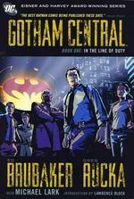 Gotham Central : Book 1: In the Line of Duty - Michael Lark