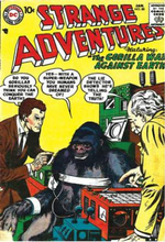 Showcase Presents : Strange Adventures: Volume 2 - Various