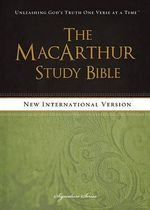 MacArthur Study Bible-NIV-Signature Series