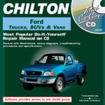 CD-Ford 76-00 Full Size Trucks : Ford Trucks, SUVs and Vans, 1986-2000 Jewel Case - CHILTON