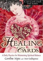 Healing Cards : Large Card Decks - Caroline Myss