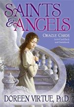 Saints and Angels Oracle Cards - Doreen Virtue