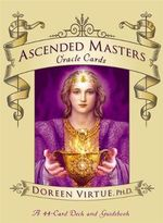 Ascended Masters Oracle Cards : A 44-Card Deck and Guidebook - Doreen Virtue
