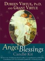 Angel Blessings Candle Kit - Doreen Virtue