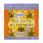 The Fifth Agreement Cards : A 48-Card Deck, Plus Dear Friends Card - Don Miguel Ruiz
