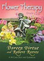Flower Therapy Oracle Cards : A 44-Card Deck and Guidebook - Doreen Virtue