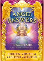 Angel Answers Oracle Cards : A 44-Card Deck and Guidebook - Doreen Virtue
