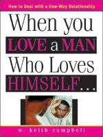 When You Love a Man Who Loves Himself - W, Keith Campbell