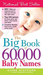 The Big Book of 60,000 Baby Names - Diane Stafford